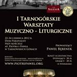 I Tarnogórskie Warsztaty Muzyczno-Liturgiczne