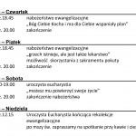 Ewangelizacja w parafii NSPJ w Strzybnicy - 11-14 luty 2016