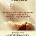 Zaproszenie na Wieczór Uwielbienia do Bobrownik 8.04.2018