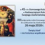 Zaproszenie do sanktuarium św. Józefa do Kalisza