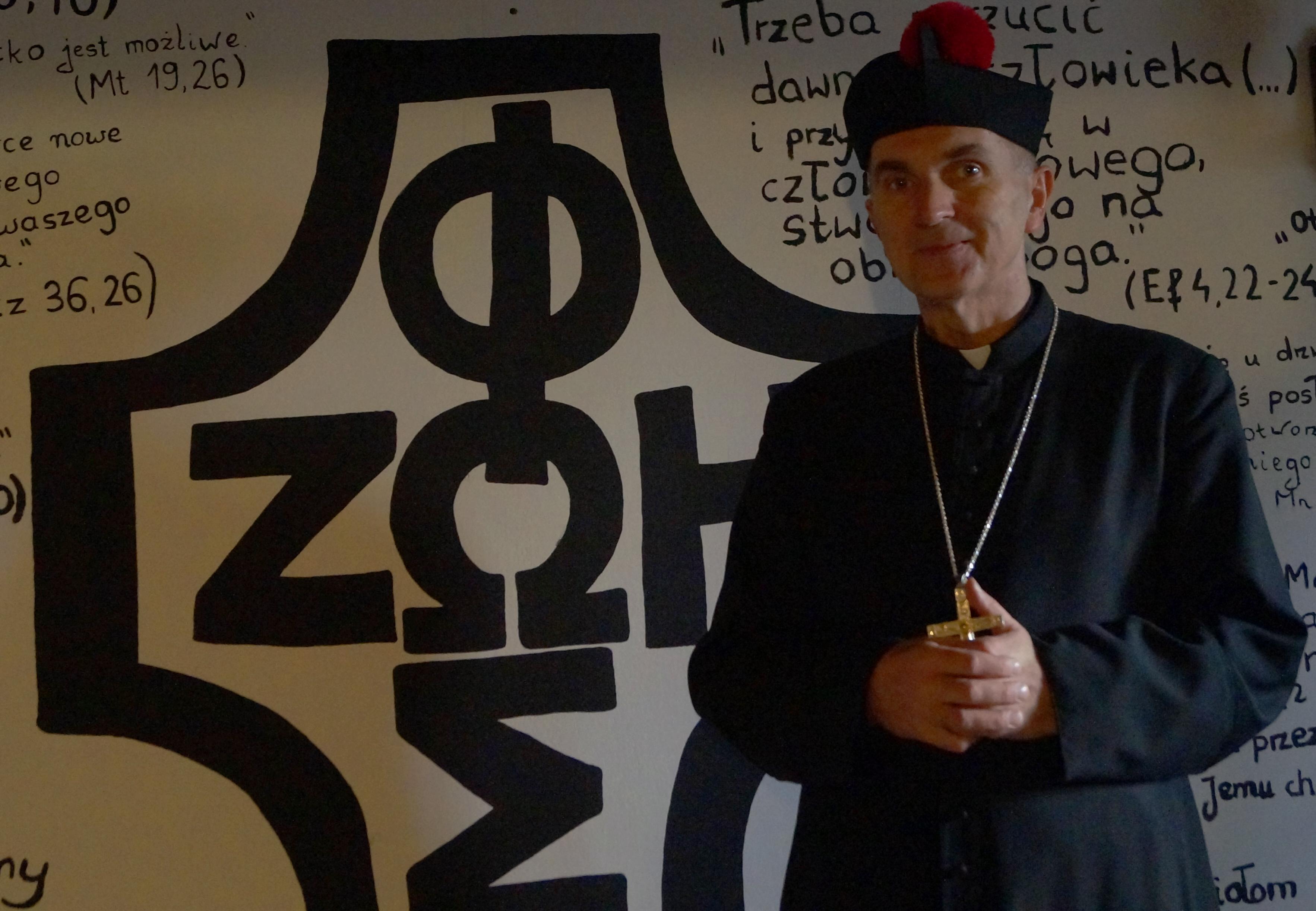 Biskup nominat Ks. Andrzej Iwanecki